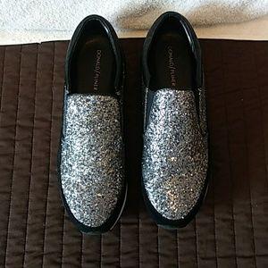 DONALD PLINER (New Ronie Glitter Sneaker)
